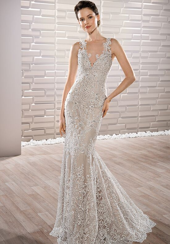 Demetrios 707 Sheath Wedding Dress
