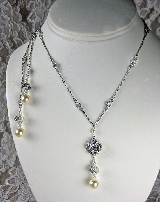 Everything Angelic Laisa Lariat Necklace - L43 Wedding Necklace photo