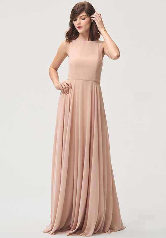 Jenny Yoo Collection (Maids) Elizabeth Bateau Bridesmaid Dress