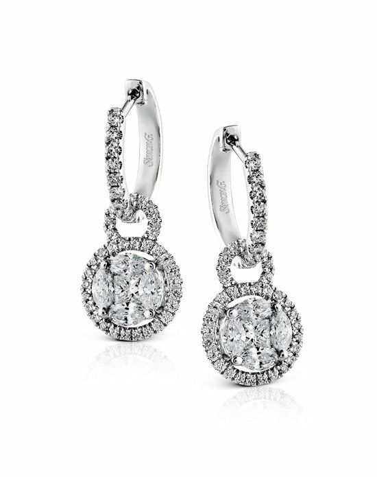 Simon G. ME1507 Wedding Earring photo