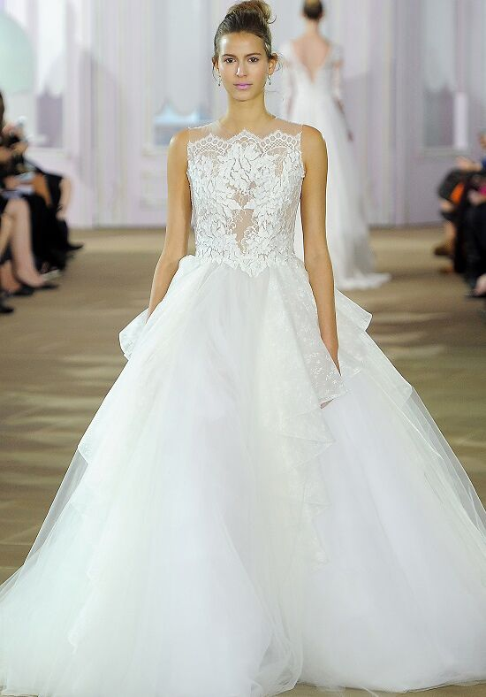 Ines Di Santo Souffle Ball Gown Wedding Dress