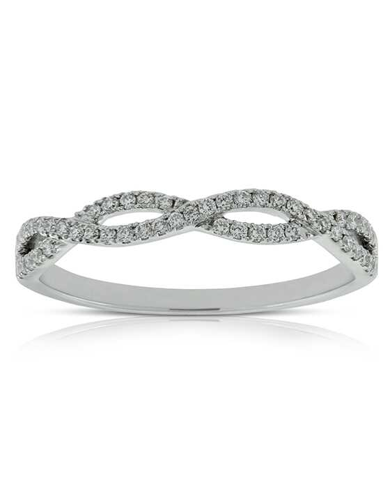 Ben Bridge Jeweler Braided Diamond Band 14K - 11527025 White Gold Wedding Ring