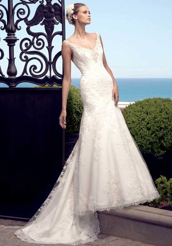 Casablanca Bridal 2190 Mermaid Wedding Dress