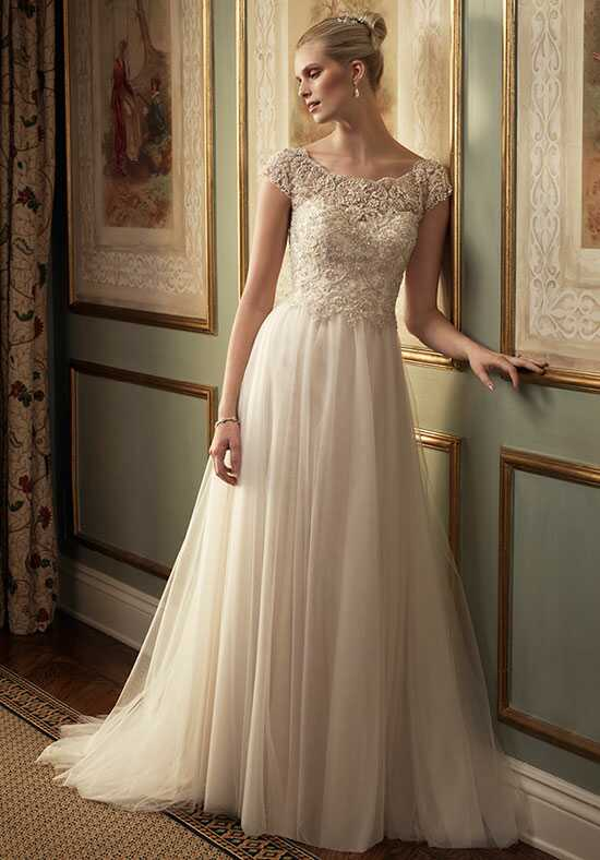 Casablanca Bridal 2213 A-Line Wedding Dress
