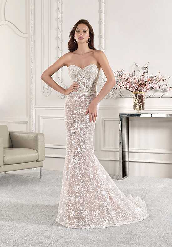 Demetrios 887 Sheath Wedding Dress