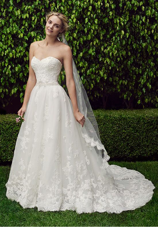 Casablanca Bridal 2229 Cherry Blossom Ball Gown Wedding Dress
