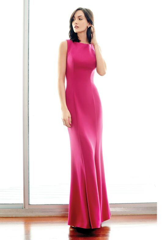 Colour by Kenneth Winston 5242L Bateau Bridesmaid Dress