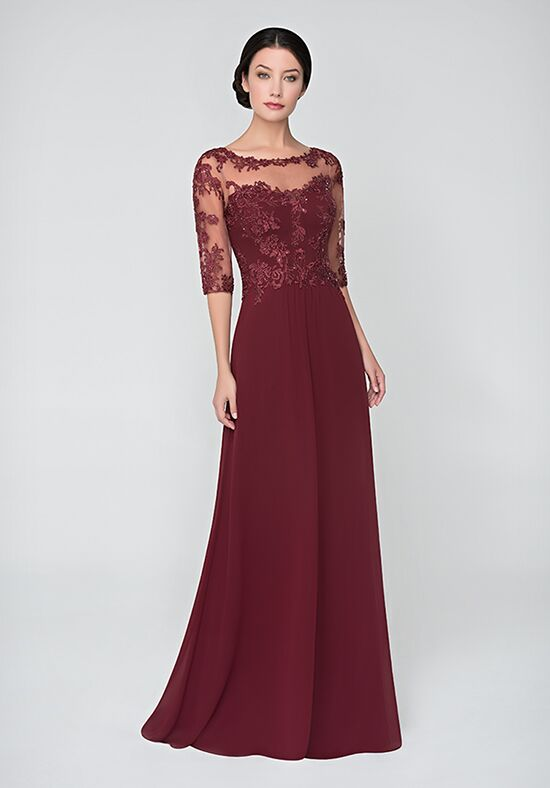 Val Stefani Celebrations MB7621 Red Mother Of The Bride Dress