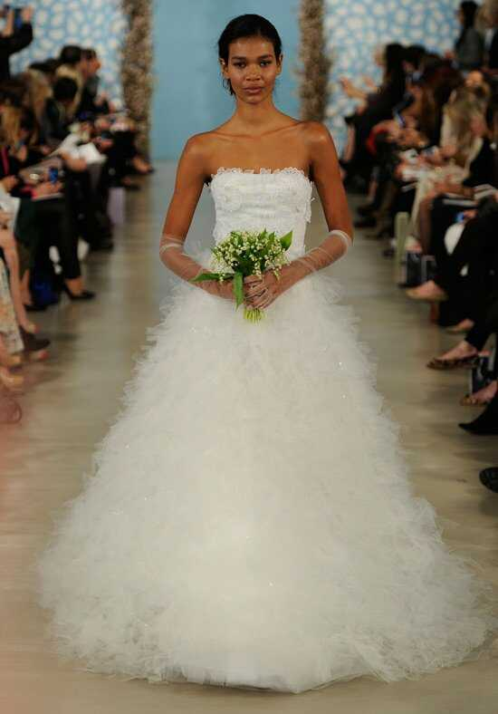 Oscar de la Renta Bridal 2014 Look 24 Ball Gown Wedding Dress