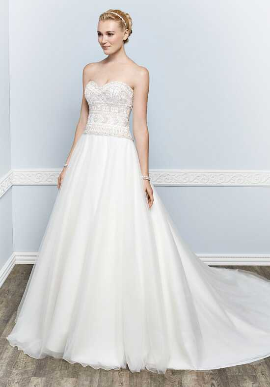 Kenneth Winston 1662 Ball Gown Wedding Dress