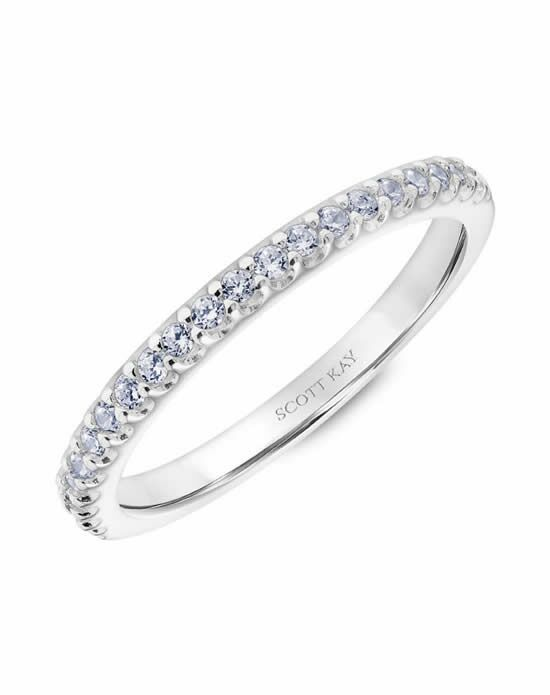 Scott Kay 31-SK5602W-L Platinum Wedding Ring