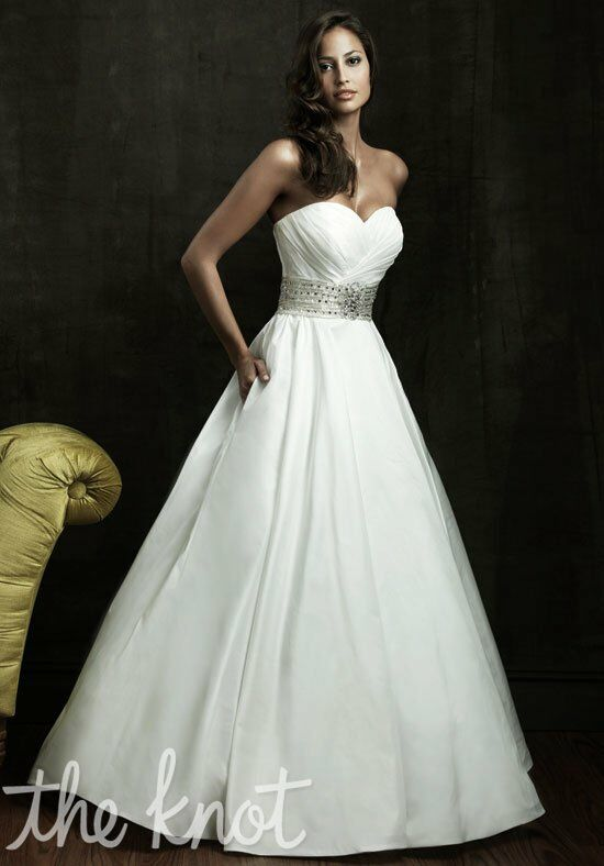 Allure Bridals 8802 A-Line Wedding Dress
