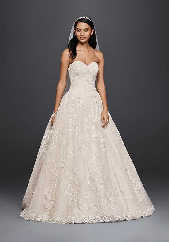 Oleg Cassini at David's Bridal Oleg Cassini Style CWG749 Ball Gown Wedding Dress