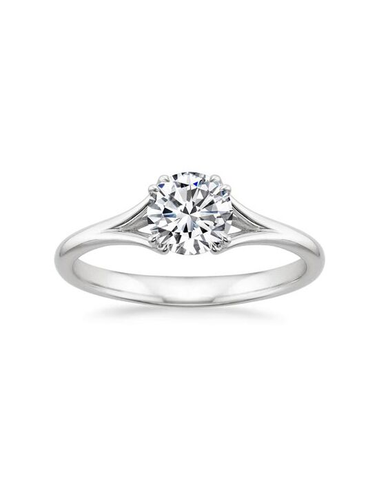 "Say ""Yes!"" in Platinum Unique Round Cut Engagement Ring"