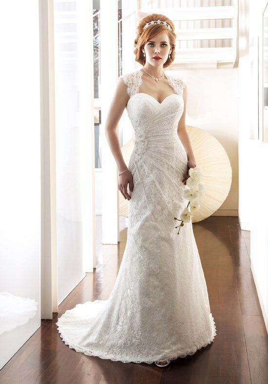 1 Wedding by Mary's Bridal 6250 Sheath Wedding Dress