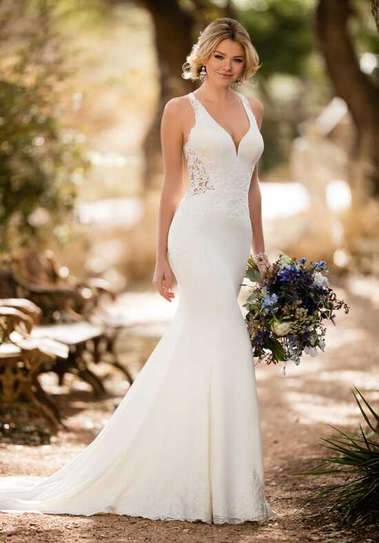 Essense of Australia D2326 Sheath Wedding Dress