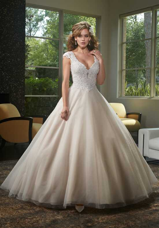 1 Wedding by Mary's Bridal 6438 Ball Gown Wedding Dress