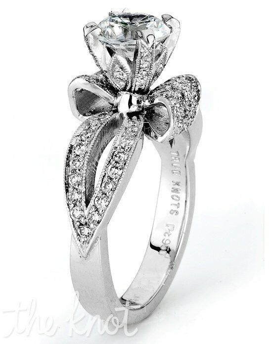 TRUE KNOTS TRUE WOMAN - K3068 Platinum, White Gold Wedding Ring