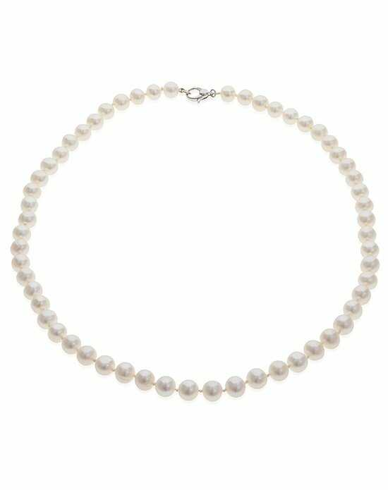 Thomas Laine Freshwater 18 Inch Pearl Necklace Wedding Necklace photo