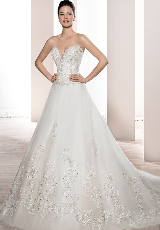 Demetrios 733 Ball Gown Wedding Dress