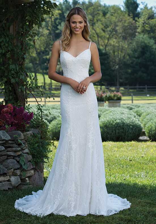 Sincerity Bridal 3980 Sheath Wedding Dress