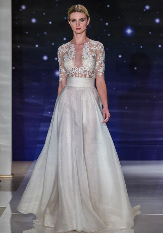 Reem Acra She's Mine A-Line Wedding Dress