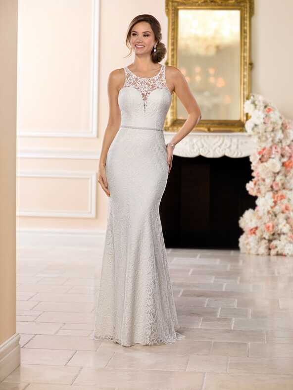 Stella York 6550 Sheath Wedding Dress