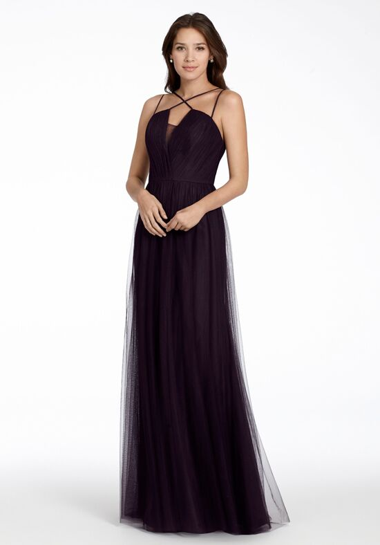 Hayley Paige Occasions 5706 V-Neck Bridesmaid Dress