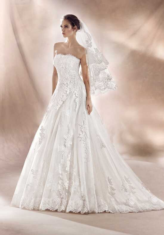 WHITE ONE SHARON A-Line Wedding Dress