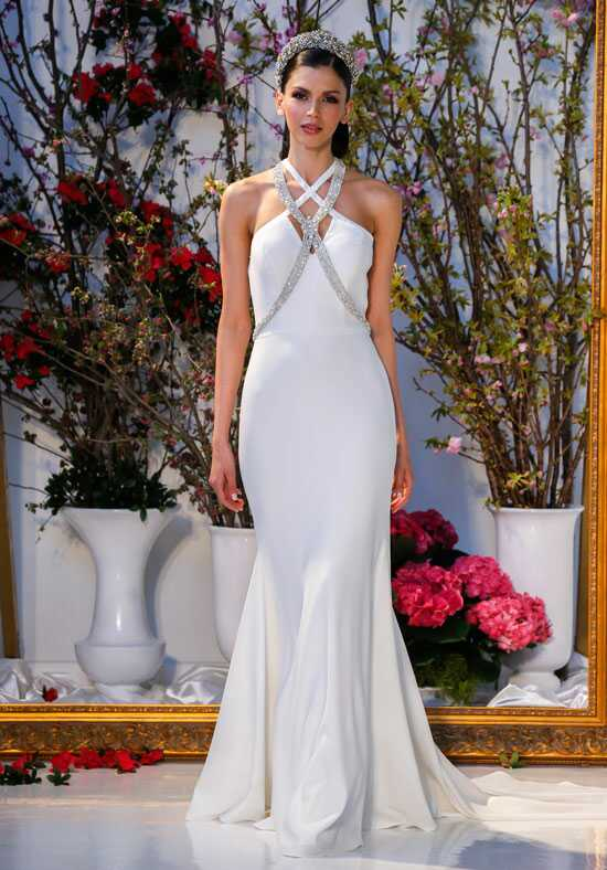 Blue Willow Bride by Anne Barge Cypress Sheath Wedding Dress