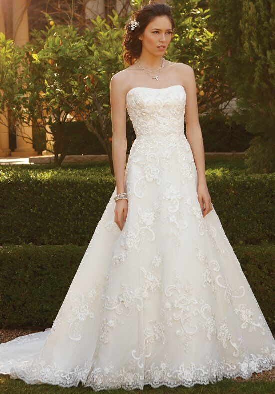 Casablanca Bridal 2051 A-Line Wedding Dress