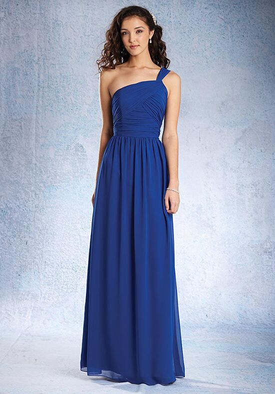 Alfred Angelo Signature Bridesmaids Collection 7358L One Shoulder Bridesmaid Dress