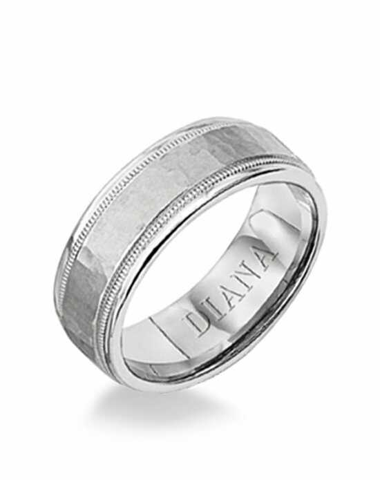Diana 11-N6837W-G Platinum, White Gold Wedding Ring
