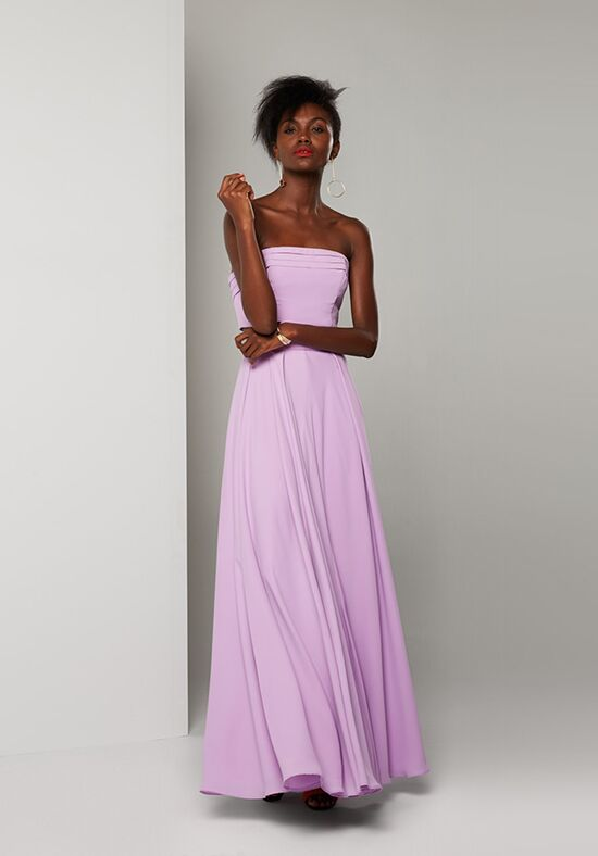 Fame and Partners Bridesmaid Rebel Capri Two Piece Strapless Bridesmaid Dress