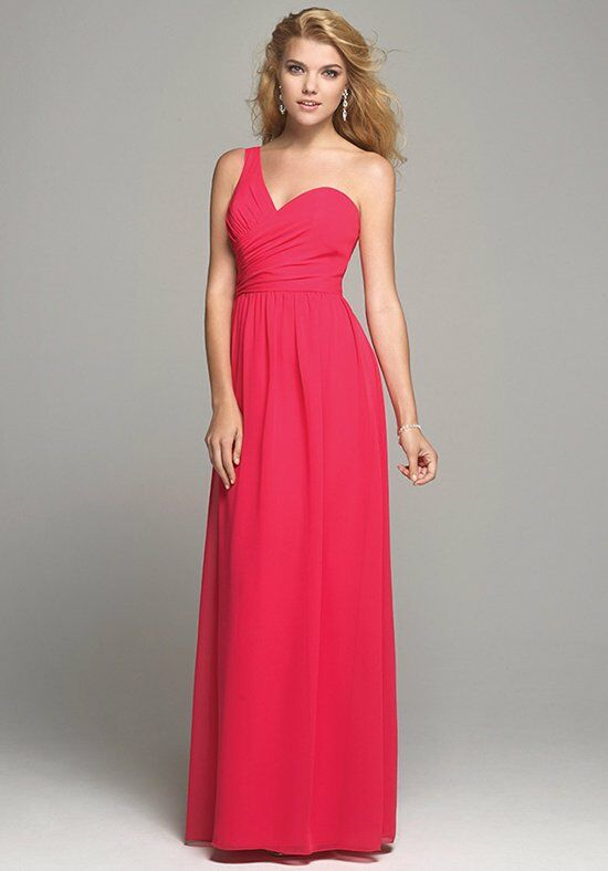 Alfred Angelo Signature Bridesmaids Collection 7257 One Shoulder Bridesmaid Dress