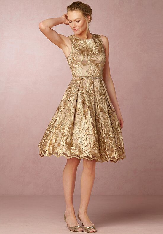 BHLDN (Mother of the Bride) Rosa Gold Mother Of The Bride Dress