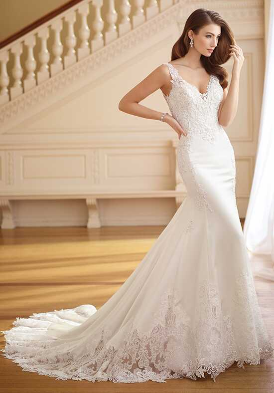 David Tutera for Mon Cheri 217225 Frances Mermaid Wedding Dress