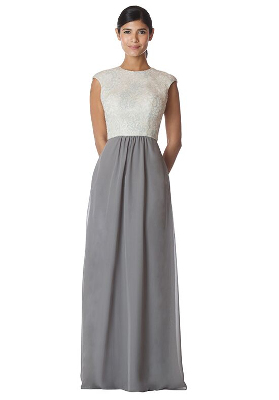 Bari Jay Bridesmaids 1784 Bateau Bridesmaid Dress