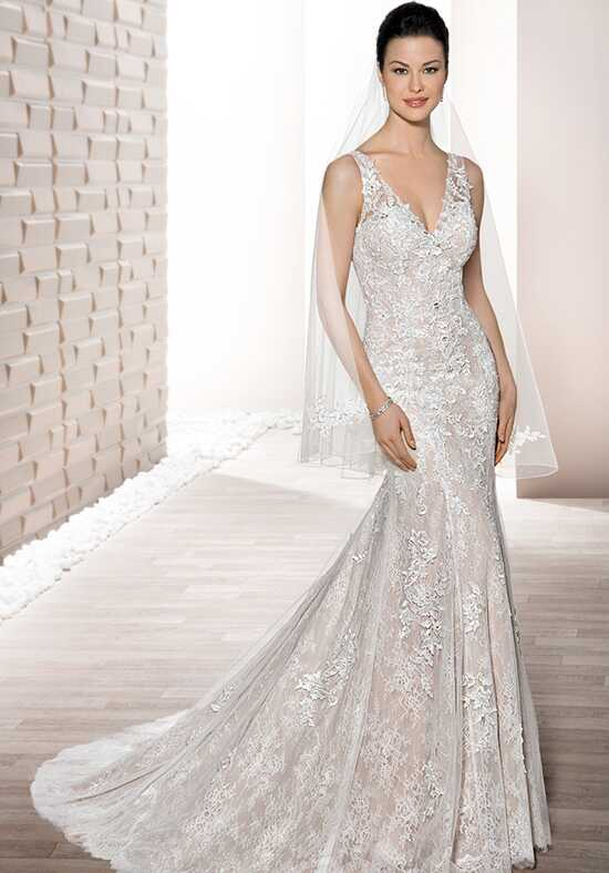 Demetrios 708 Mermaid Wedding Dress