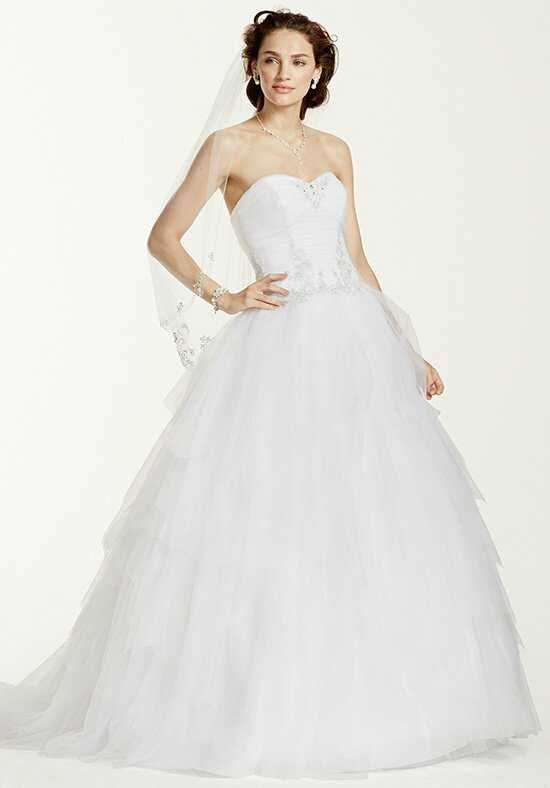 David's Bridal Jewel Style WG3722 Ball Gown Wedding Dress