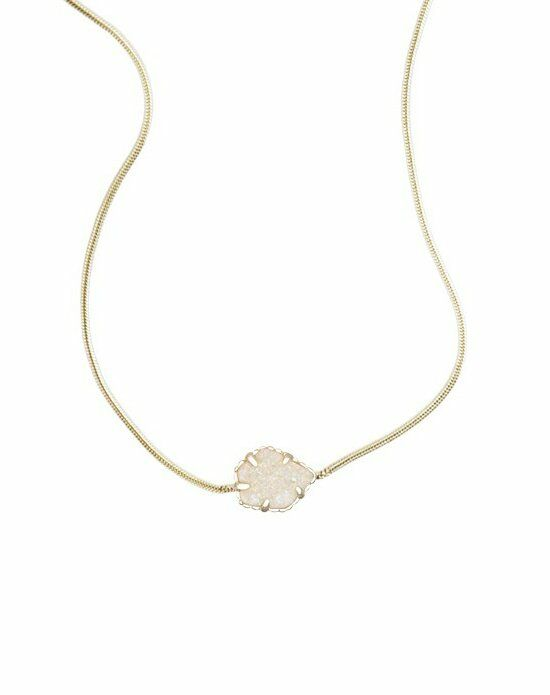 Kendra Scott Mara Necklace in Iridescent Drusy Wedding Necklace photo
