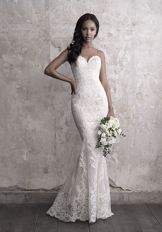Madison James MJ468 Sheath Wedding Dress