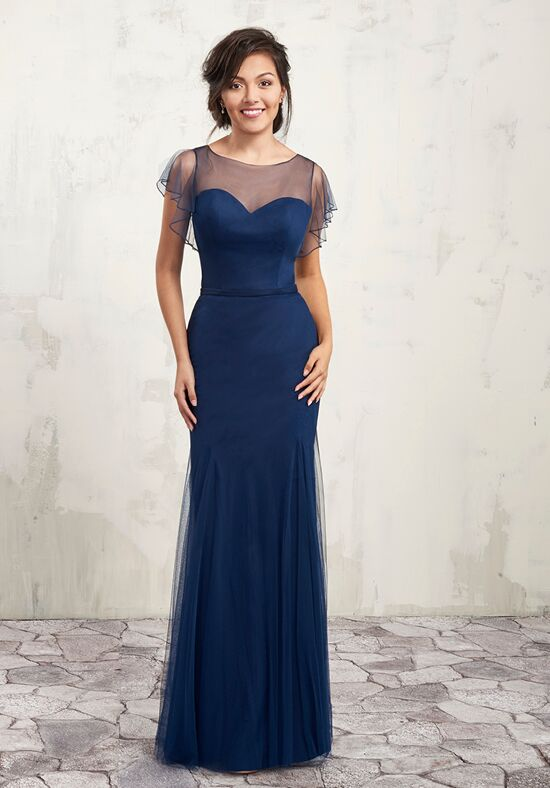 Amalia by Mary's Bridal MB7002 Bateau Bridesmaid Dress