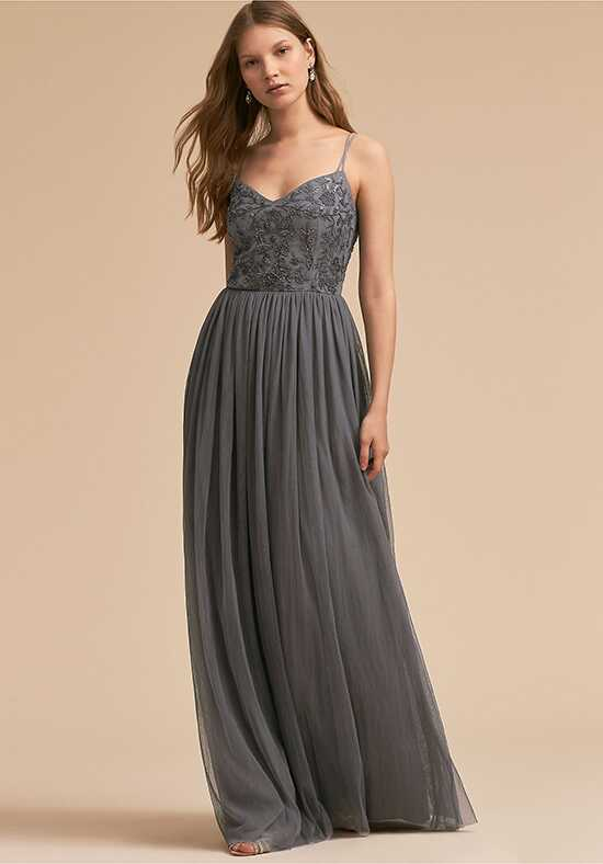 BHLDN (Mother of the Bride) Elowen Dress Silver Mother Of The Bride Dress