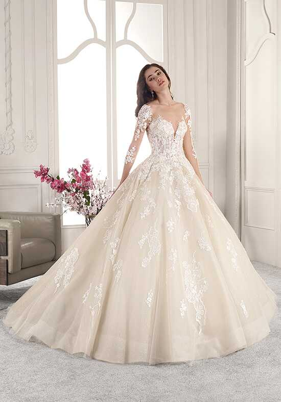Demetrios 843 Ball Gown Wedding Dress