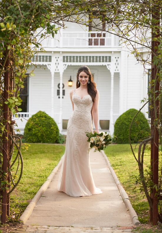 Martina Liana 894 Sheath Wedding Dress