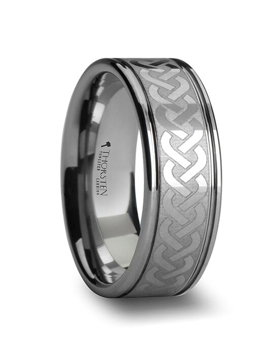 Mens Tungsten Wedding Bands W279-LE2 Tungsten Wedding Ring