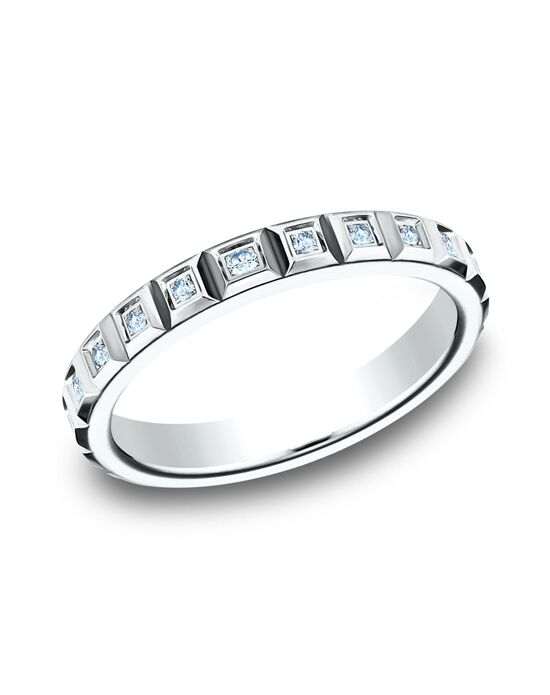 Benchmark 473682W White Gold Wedding Ring