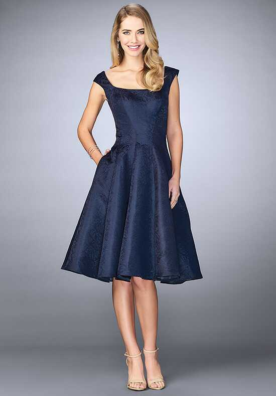La Femme Evening 24898 Blue Mother Of The Bride Dress