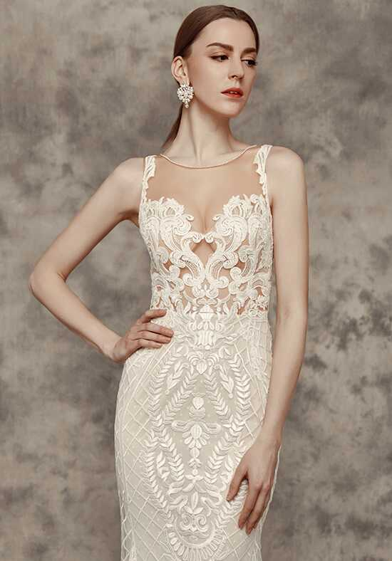 Calla Blanche 16243 Victoria Sheath Wedding Dress
